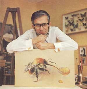В.С.ГРЕБЕННИКОВ книги со своим «знаменитым» этюдом «Шмель у капли меда».