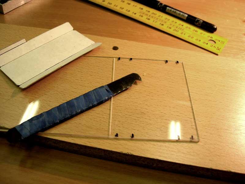 предназначена как разрезать лист оргстекла что